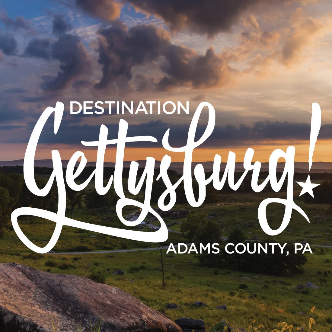 Destiantion Gettysburg BOOM Creative 2018