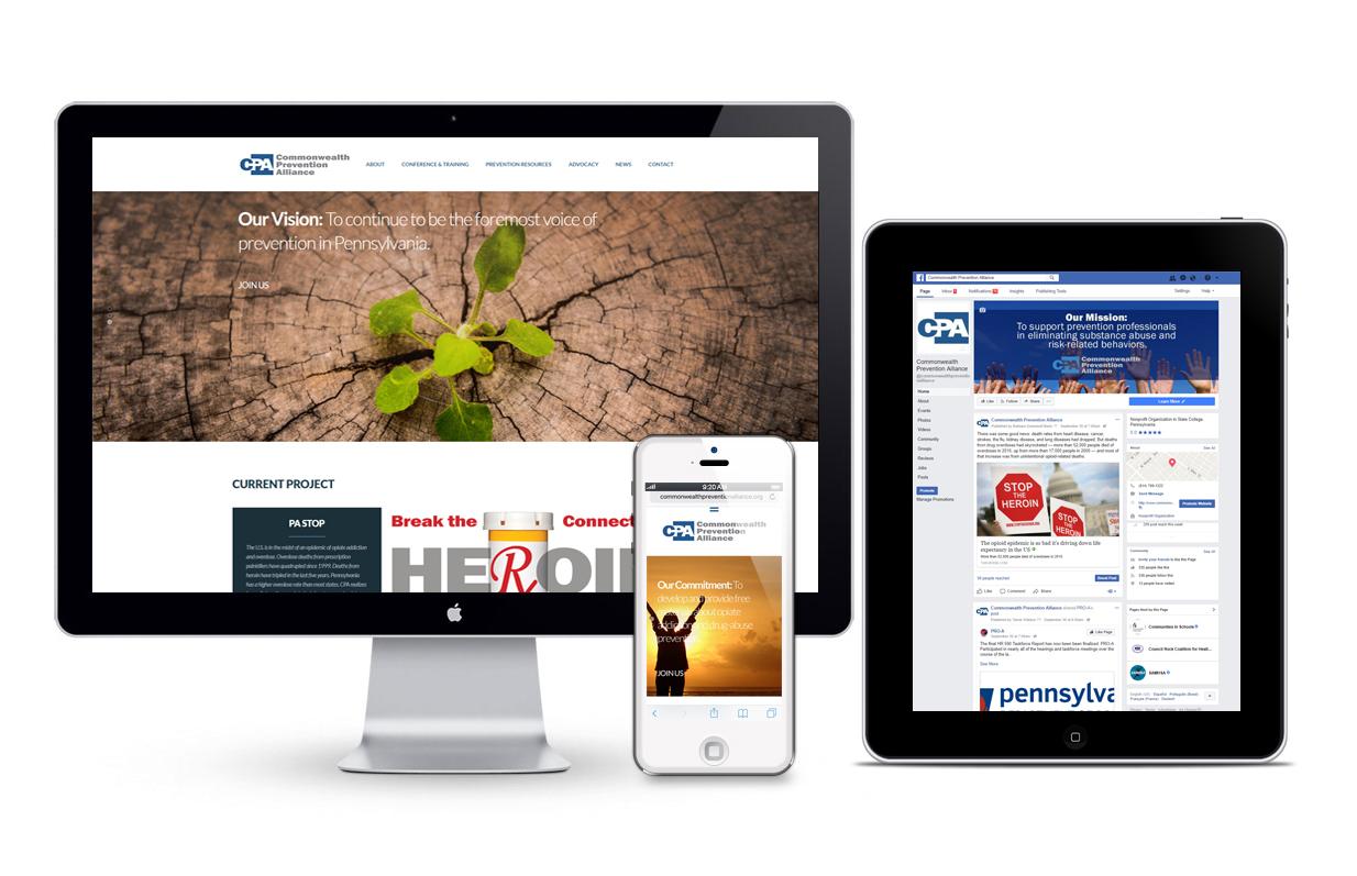 BOOM Creative - Commonwealth prevention Alliance Website