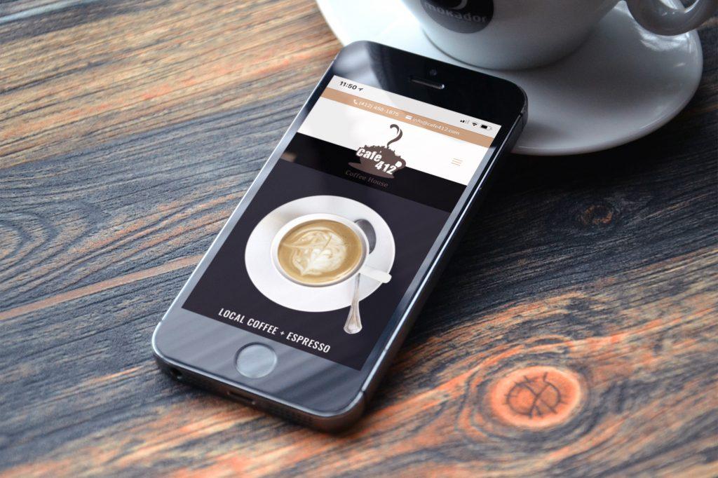 BOOM Launch: Café 412 Website - BOOM Creative